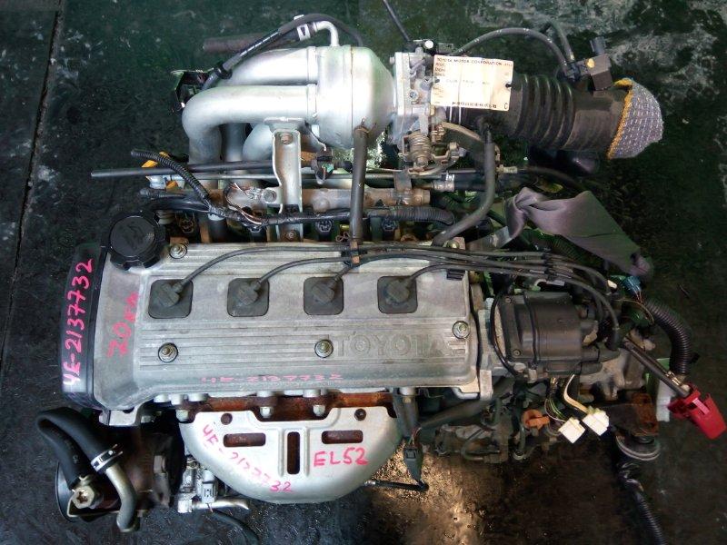 Двигатель Toyota Cynos EL52 4E-FE 1997 (б/у)