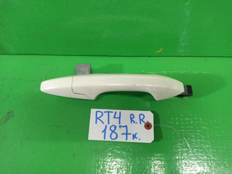 Ручка двери внешняя Honda Crossroad RT4 задняя правая (б/у)