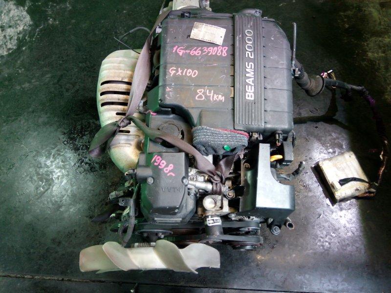 Двигатель Toyota Cresta GX100 1G-FE 1998 (б/у)