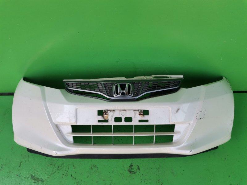 Бампер Honda Fit GE7 передний (б/у)