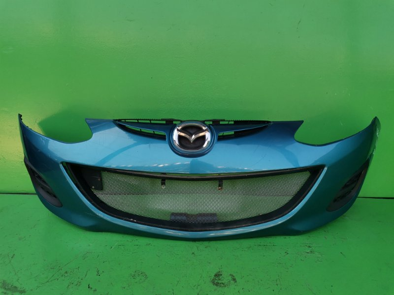 Бампер Mazda Demio DEJFS передний (б/у)