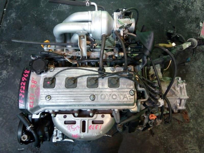 Двигатель Toyota Corolla Ii EL51 4E-FE 1998 (б/у)