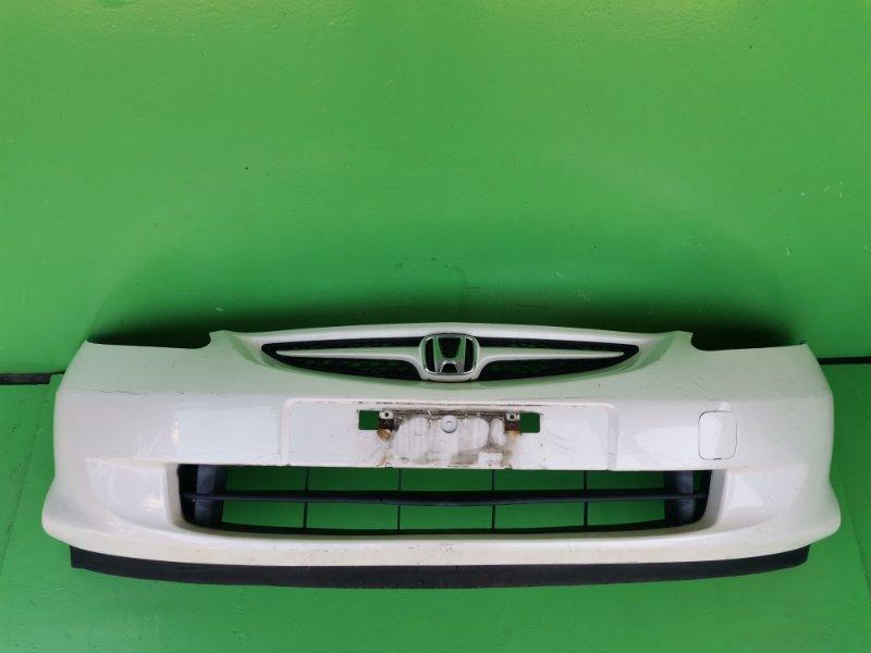 Бампер Honda Fit GD1 передний (б/у)