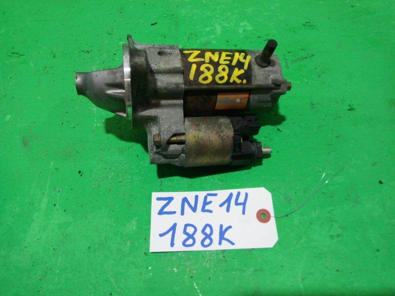 Стартер Toyota Wish ZNE14 1ZZ-FE (б/у)