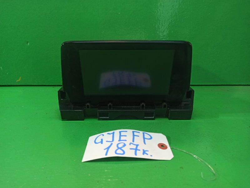 Монитор Mazda Atenza GJEFP (б/у)