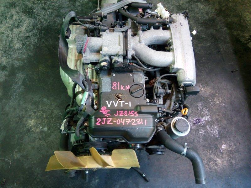 Двигатель Toyota Crown JZS155 2JZ-GE 1996 (б/у)