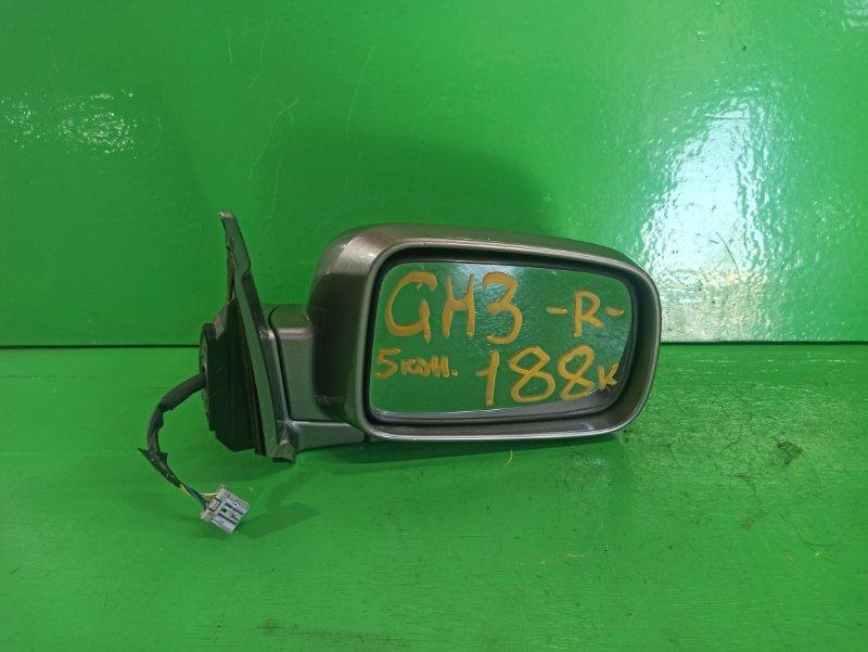 Зеркало Honda Hrv GH3 правое (б/у)
