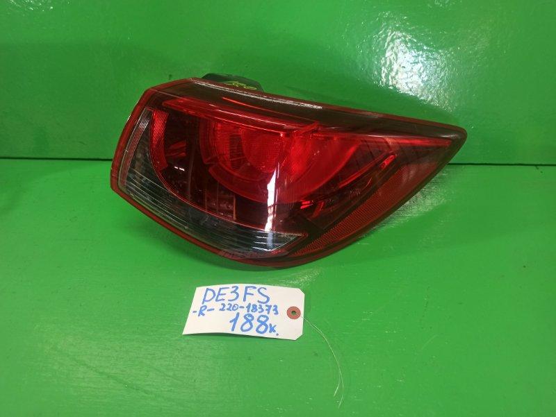Стоп-сигнал Mazda Demio DE3FS правый (б/у)