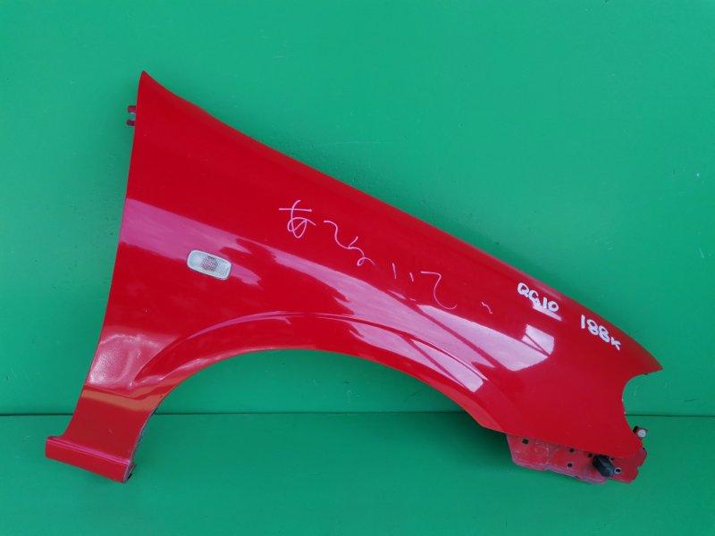Крыло Nissan Bluebird Sylphy QG10 переднее правое (б/у)