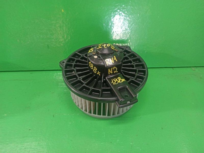 Мотор печки Honda Stream RN1 (б/у) №2