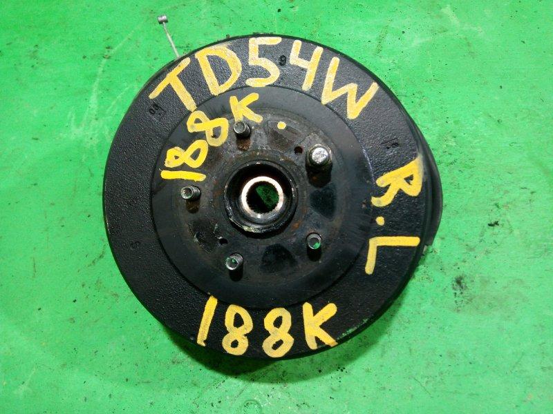 Ступица Suzuki Escudo TD54W задняя левая (б/у)