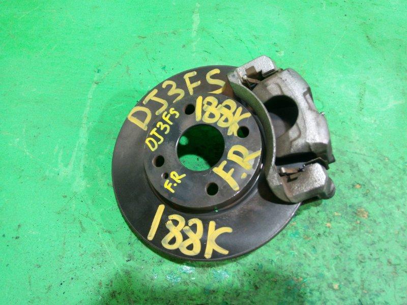 Суппорт Mazda Demio DJ3FS передний правый (б/у)