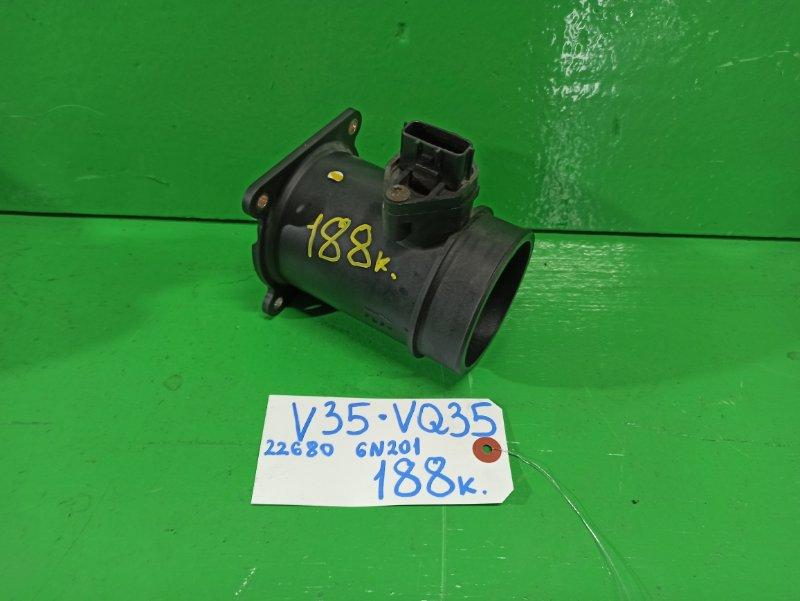 Датчик потока воздуха Nissan Skyline V35 VQ35-DE (б/у)