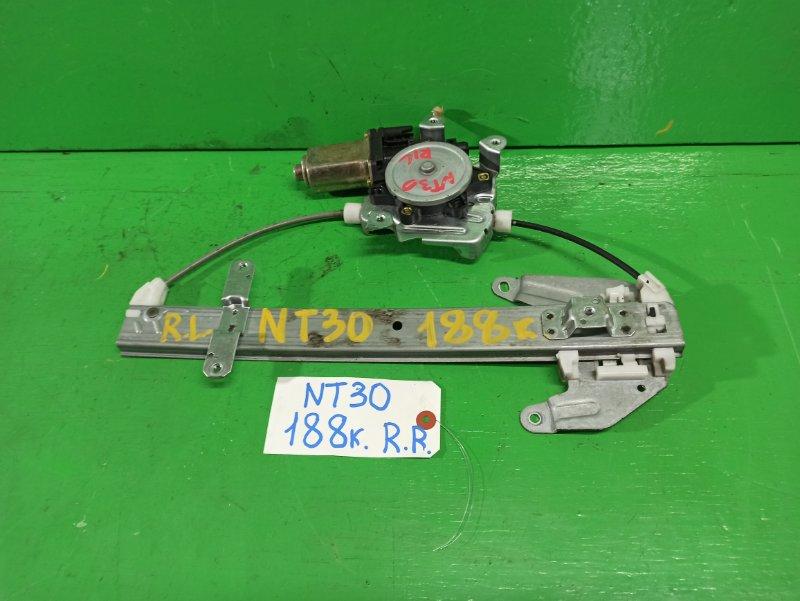 Стеклоподъемник Nissan Xtrail NT30 задний левый (б/у)