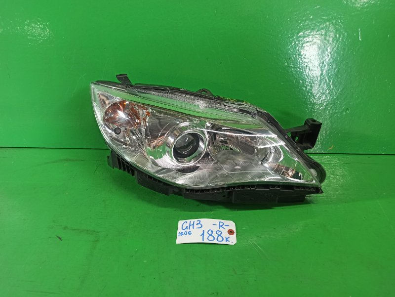 Фара Subaru Impreza GH3 правая (б/у)
