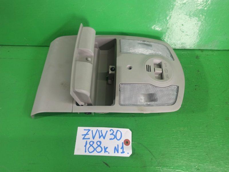 Светильник салона Toyota Prius ZVW30 (б/у) №1