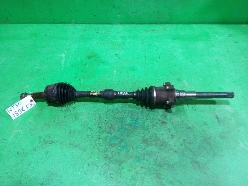Привод Nissan Xtrail NT30 передний правый (б/у)