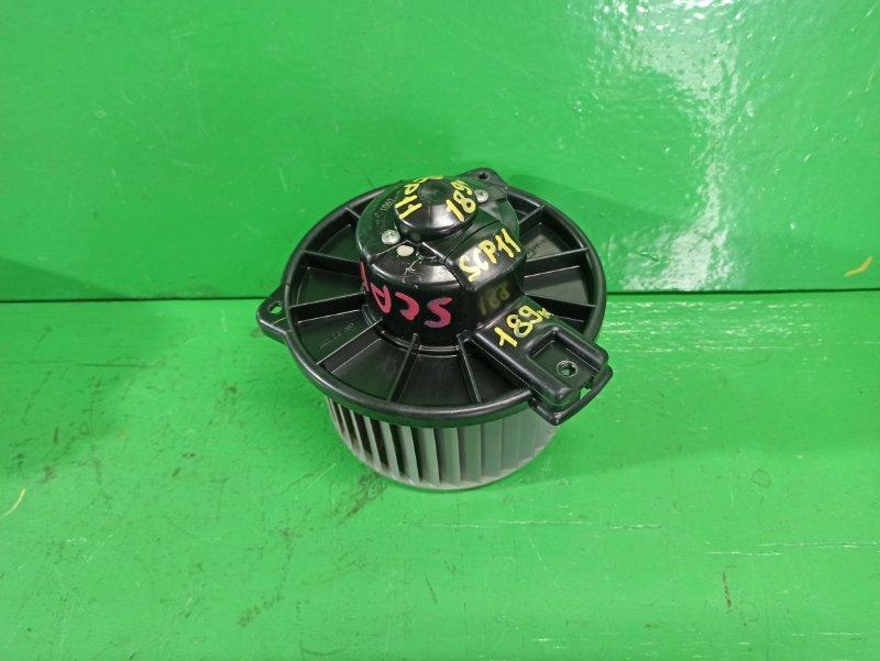 Мотор печки Toyota Platz SCP11 (б/у)