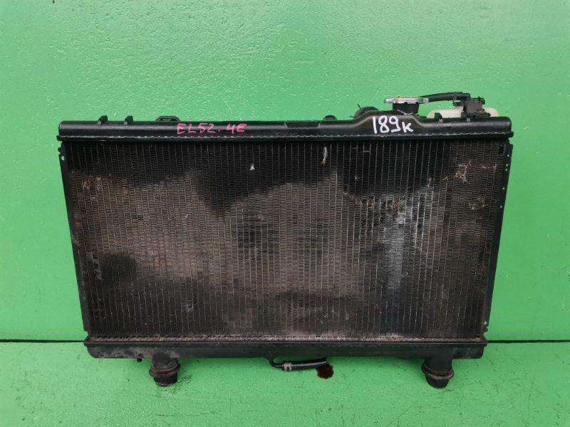 Радиатор основной Toyota Cynos EL52 4E-FE (б/у)