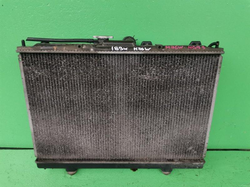 Радиатор основной Mitsubishi Pajero Io H76W 4G93 (б/у)
