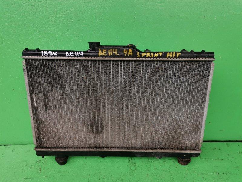 Радиатор основной Toyota Sprinter AE114 4A-FE (б/у)