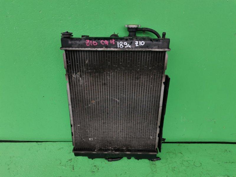 Радиатор основной Nissan Cube Z10 CG13-DE (б/у)