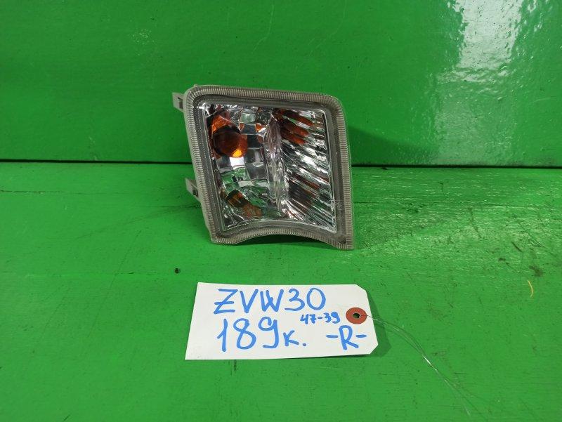 Повторитель Toyota Prius ZVW30 правый (б/у)