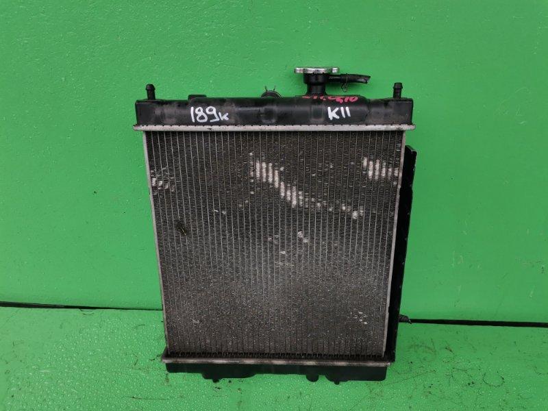 Радиатор основной Nissan March K11 CG10-DE (б/у)