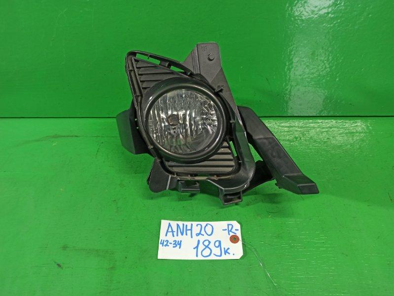 Туманка Toyota Alphard ANH20 правая (б/у)