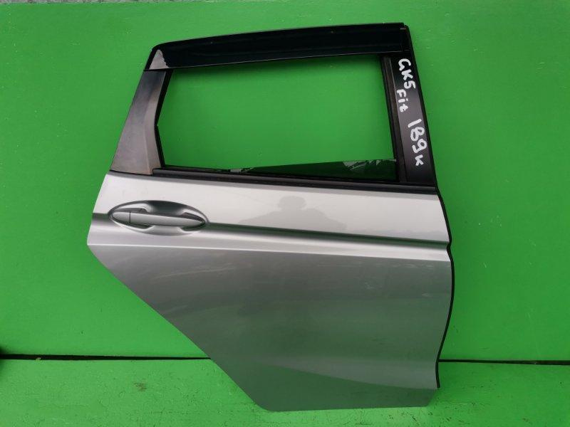 Дверь Honda Fit GK5 задняя правая (б/у)