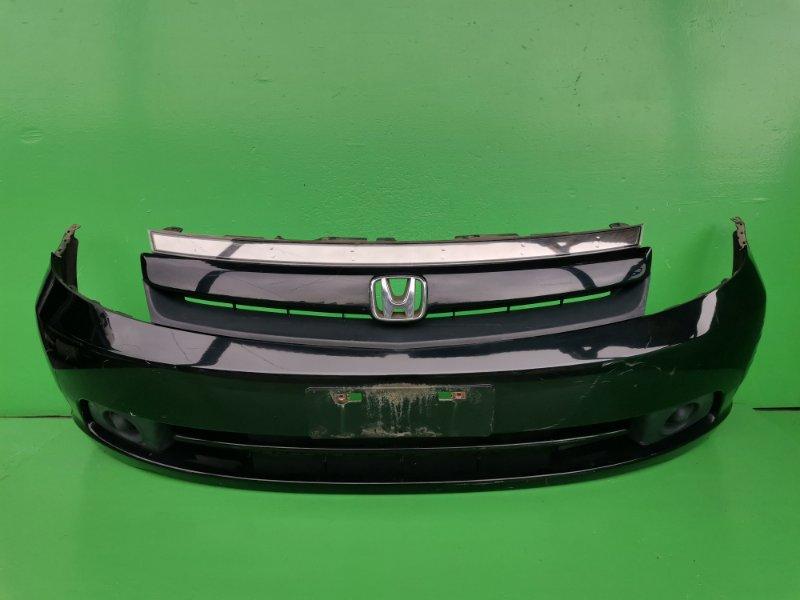 Бампер Honda Stream RN1 передний (б/у)