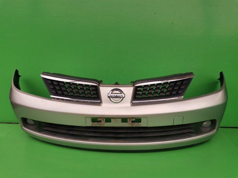 Бампер Nissan Tiida C11 передний (б/у)