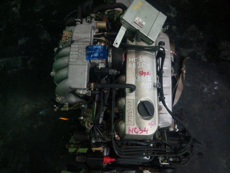 Двигатель Nissan Laurel C34 RB20-E 1995 (б/у)