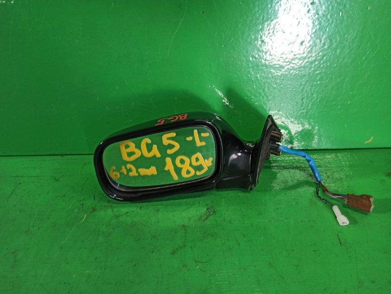 Зеркало Subaru Legacy BG5 левое (б/у)