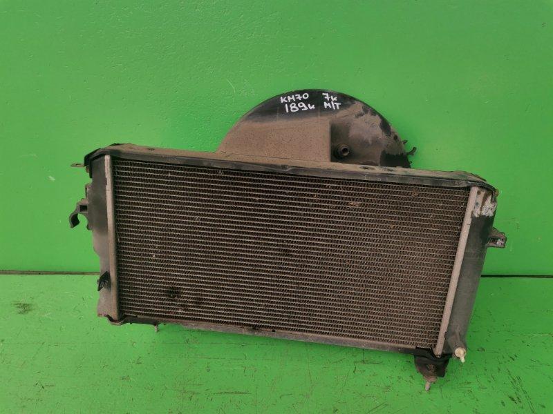 Радиатор основной Toyota Town Ace KM70 7К (б/у)