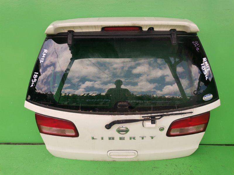 Дверь задняя Nissan Liberty M12 (б/у)