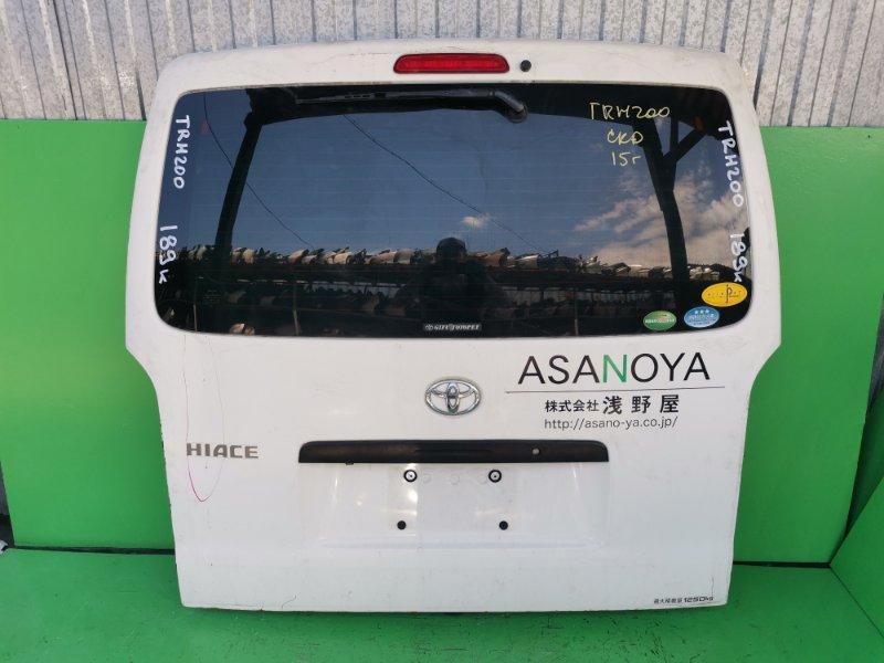 Дверь задняя Toyota Hiace TRH200 (б/у)