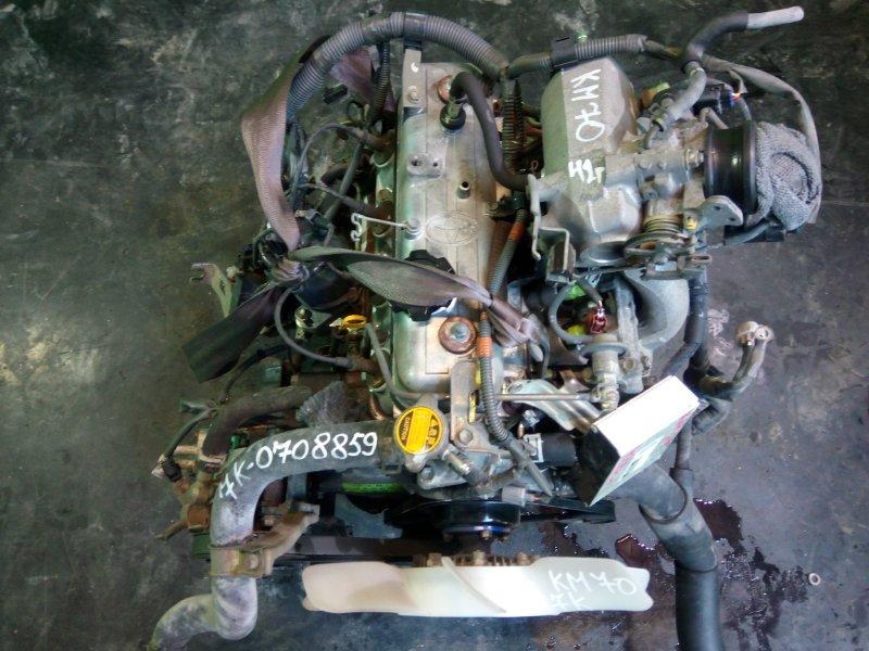 Двигатель Toyota Town Ace KM70 7К (б/у)