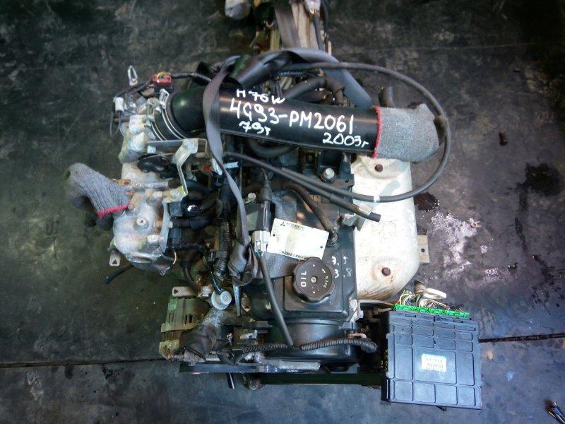 Двигатель Mitsubishi Pajero Io H76W 4G93 2003 (б/у)