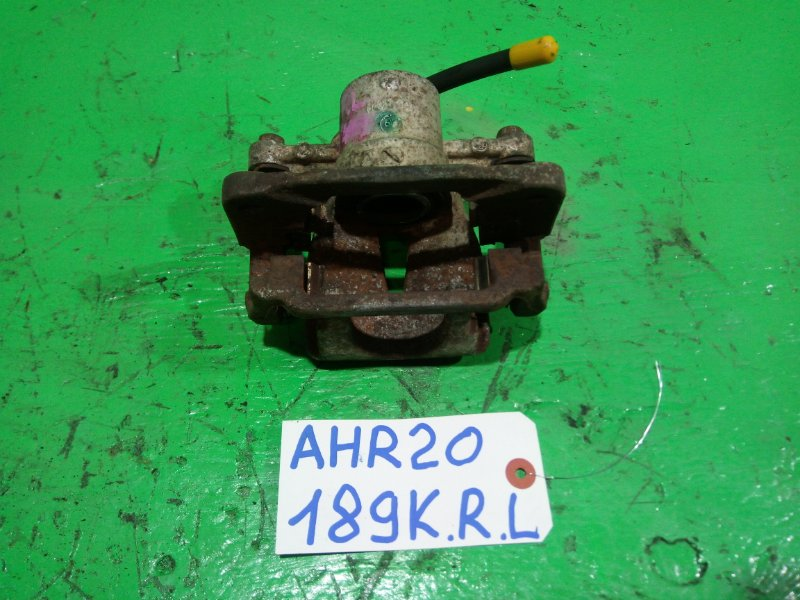 Суппорт Toyota Estima AHR20 задний левый (б/у)
