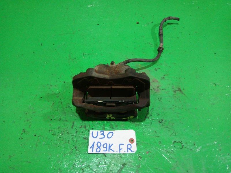 Суппорт Nissan Presage U30 передний правый (б/у)