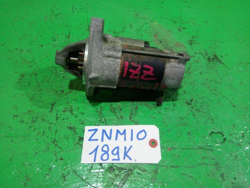 Стартер Toyota Isis ZNM10 1ZZ-FE (б/у)