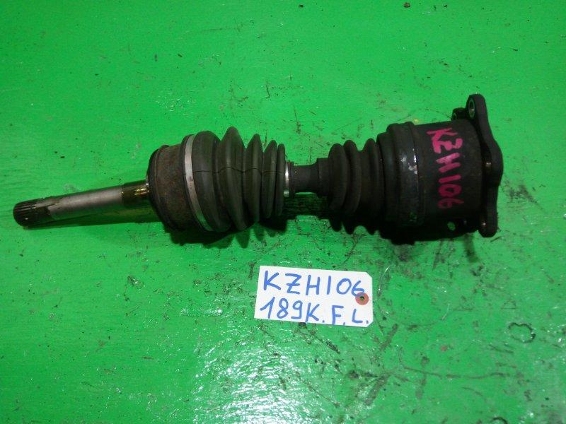 Привод Toyota Hiace KZH106 передний левый (б/у)