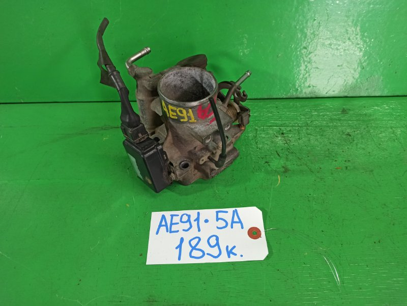 Дроссельная заслонка Toyota Sprinter AE91 5A (б/у)