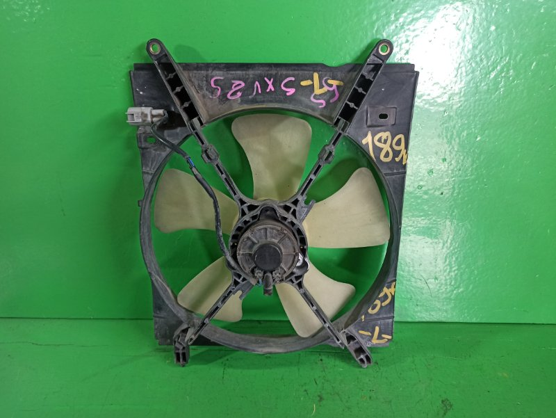 Вентилятор радиатора Toyota Mark Ii Qualis SXV25 левый (б/у)