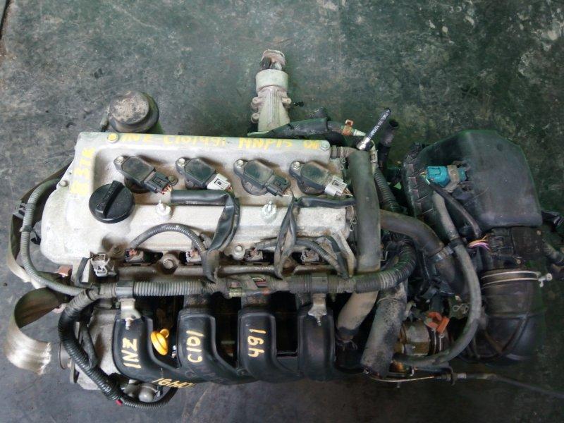 Двигатель Toyota Porte NNP15 1NZ-FE 2006 (б/у)