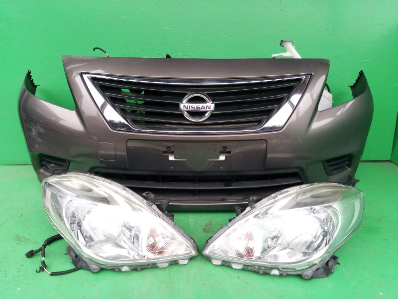Ноускат Nissan Latio N17 HR12-DE 2012 (б/у)