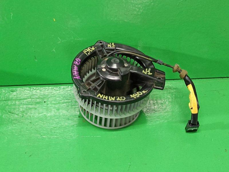 Мотор печки Toyota Prius NHW20 (б/у) №1