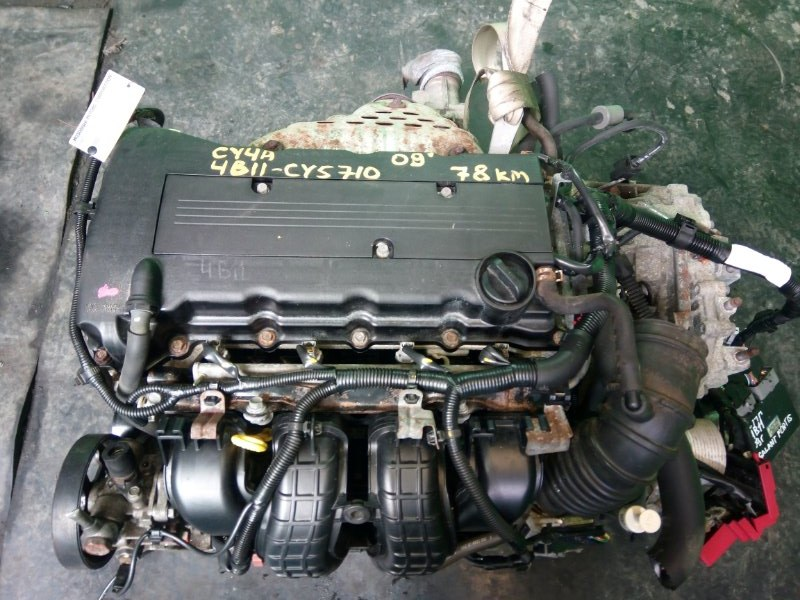 Двигатель Mitsubishi Galant Fortis CY4A 4B11 2009 (б/у)