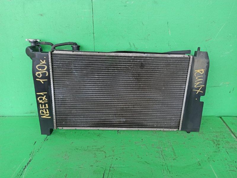 Радиатор основной Toyota Runx NZE121 1NZ-FE (б/у)